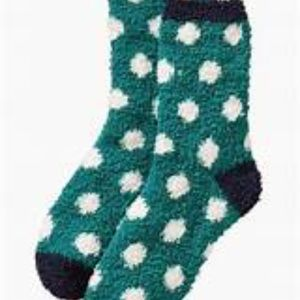 Old navy cozy socks with polka dots